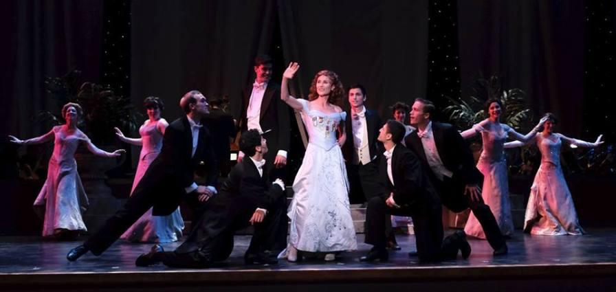 Annie (Beth Malone) and Ensemble