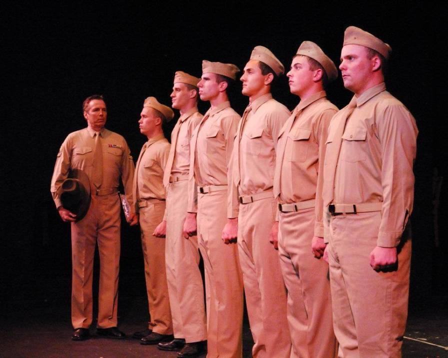 The Cast of Biloxi Blues